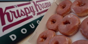 Krispy Kreme And 7-11 Are Giving Away Free Stuff This Weekend So It's Lucky You Hang Out In Front Of Both