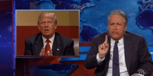 Jon Stewart Had A Hilarious Response To Donald Trump's Comments About John McCain