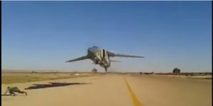This Is What Happens When You Walk Across A Runway A Fighter Jet Is Taking Off From