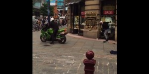 Wild Video Shows Jewel Thieves In England Making Escape On Motorcycle In Broad Daylight