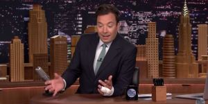 Jimmy Fallon Injured His Hand Partying With A Bottle Of Jägermeister At Harvard Like The Huge Bro That He Is