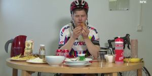 Reporter Eats As Much As A Tour de France Rider, Pukes His Brains Out