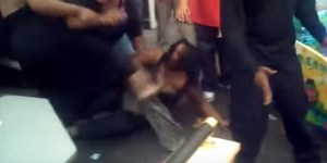 Woman In A Bra Gets Jumped, Kicked In Face Twice In Most Lit Afternoon At A Chuck E. Cheese's Ever
