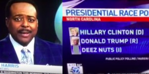 Watch A Newscaster Be Dead-Serious About 'Deez Nuts' Running For President