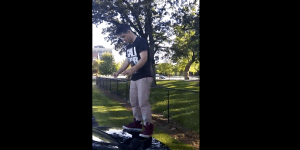 Teenager Tries To Do A Backflip Off A Car, Nearly Knocks Himself Out