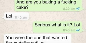 Girlfriend Asks For Flowers, Boyfriend Pulls Dumbest Joke Ever, And I Hope She Dumped Him