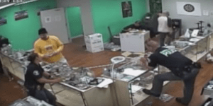 California Cops Don't Want You To Watch This Footage Of Them Allegedly Eating Pot Brownies During A Pot Shop Raid