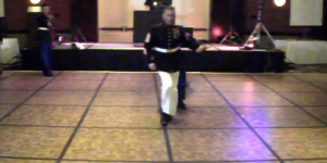This Marine Sergeant Major Has Absolutely WICKED Dance Moves