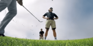 Rory McIlroy Did A Trick Shot Video With The Bryan Bros, Hit A Flop Shot Right At One Of Their Faces