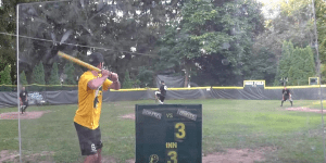 This Robbing Of A Wiffle Ball Home Run Is More Impressive Than Any MLB Robbery I've Ever Seen