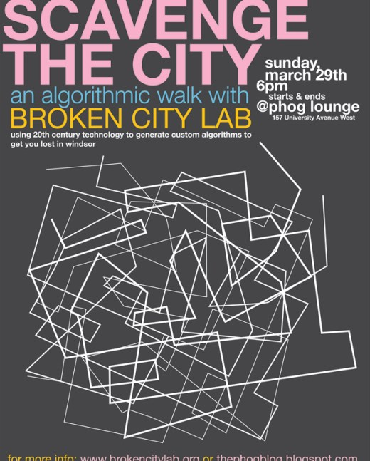 Scavenge the City: An Algorithmic Walk with Broken City Lab