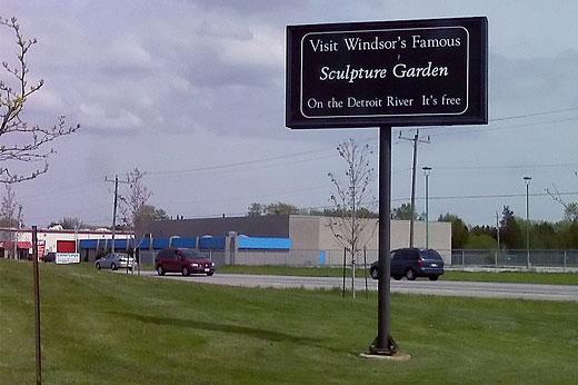 Visit Windsor's Sculpture Garden