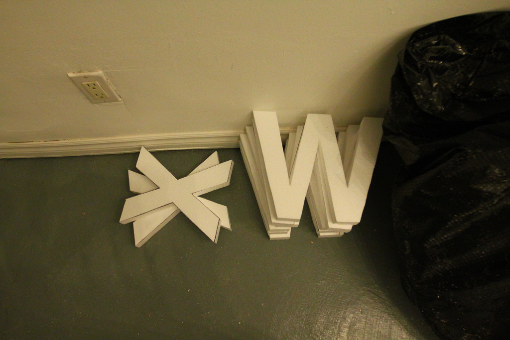 Tuesday at CIVIC SPACE with design sessions, styrofoam letters, <b data-recalc-dims=