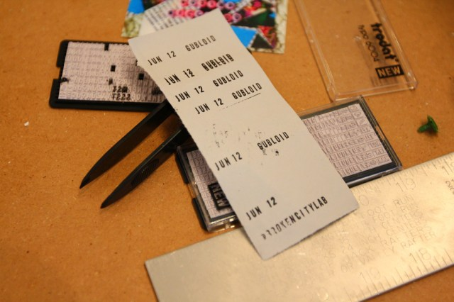 Tuesday at CIVIC SPACE with design sessions, styrofoam letters, bunting, meetings, and polaroids (28)