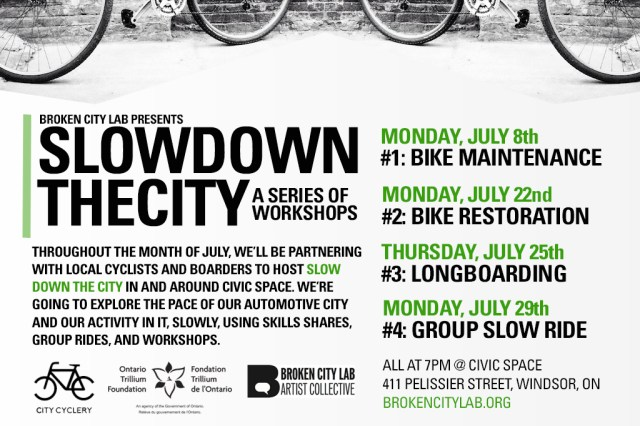 Slow Down the City - Promo Card