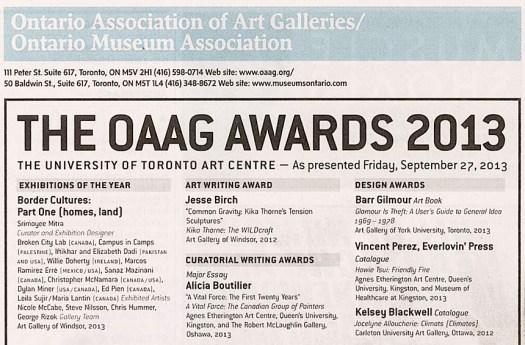 OAAG awardad