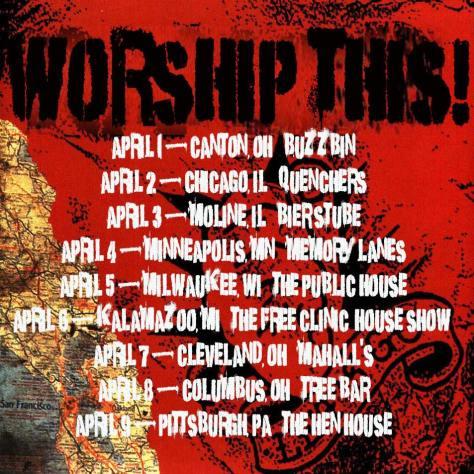 Worship This Tour