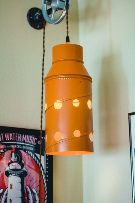 WhiskerTin Lamp