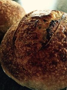 Lovely crispy crust