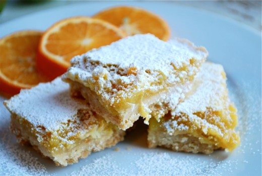 tangerine lime bars