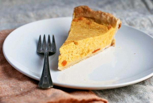 pumpkin buttermilk pie // brooklyn supper