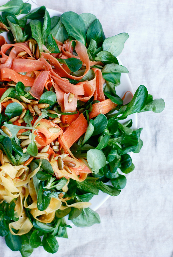 rainbow carrot salad // brooklyn supper
