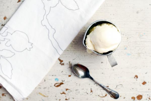 lemon verbena buttermilk ice cream // brooklyn supper