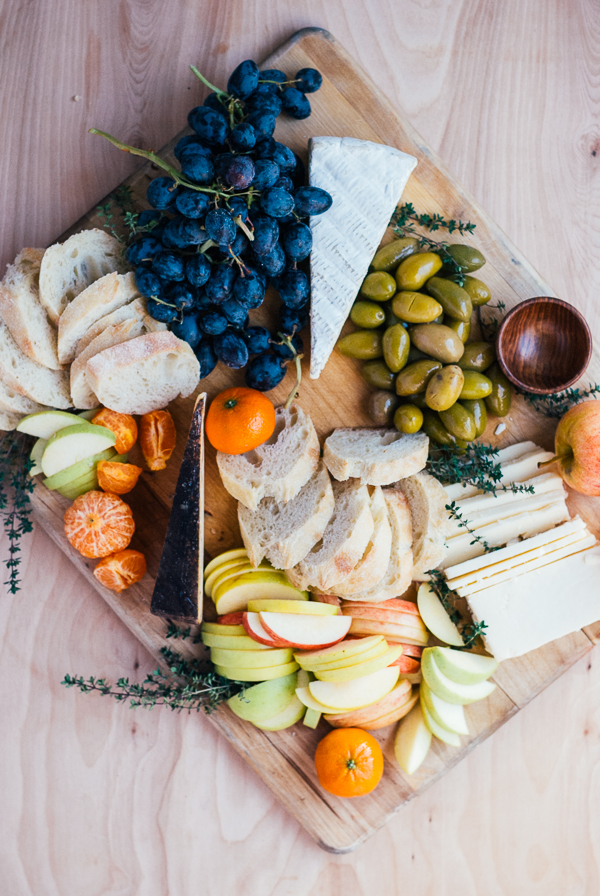 simple cheese plate // brooklyn supper