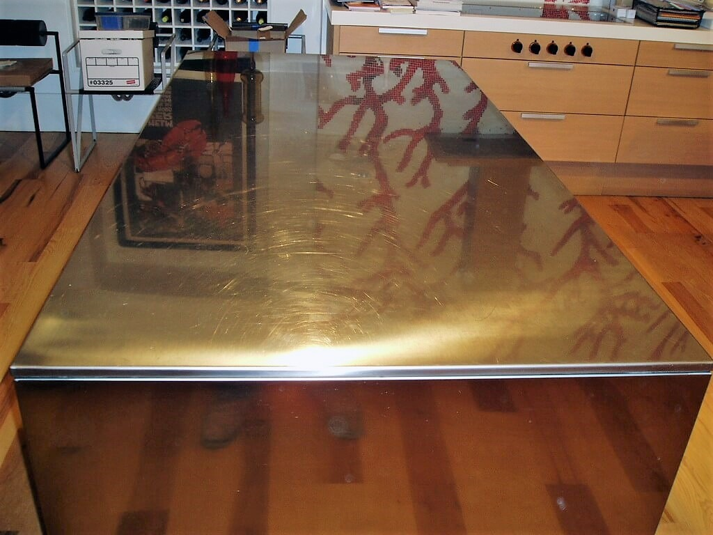 stainless steel countertop stainless steel kitchen countertops Stainless Steel Countertops