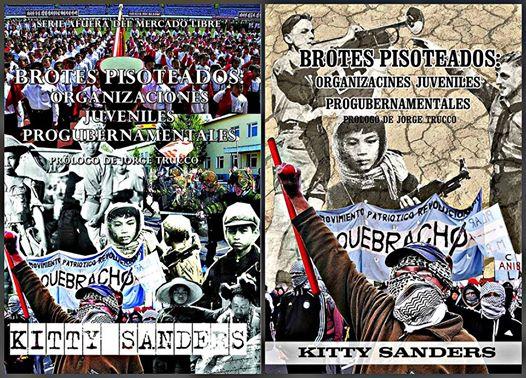 """Primera y segunda edición del libro """"Brotes pisoteados: organizaciones juveniles progubernamental"""""""