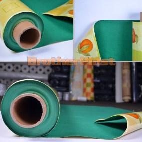Hule felpa verde 1.40 x 25mts