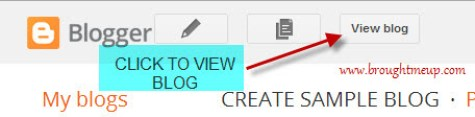 How To Write Post And Publish On BlogSpot