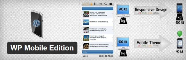 wp mobile edition plugin for mobile friendly site