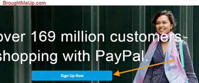 signup for PayPal account