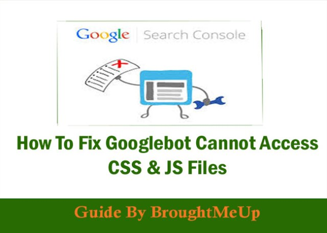 fix Googlebot cannot access CSS and JS files Warning In WordPress