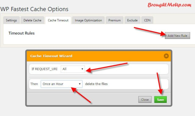 WP Fastest Cache Timeout