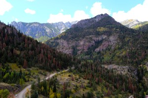 Million Dollar Highway, South of Ouray, Montana