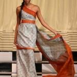 Malati's evening gown design.