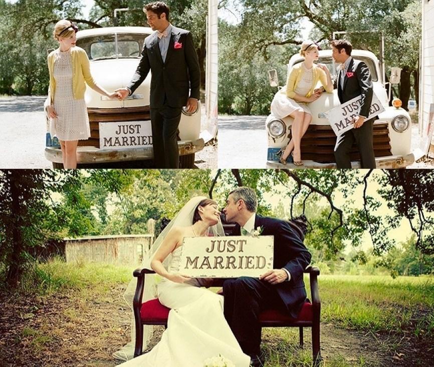 Bryllupsskilt