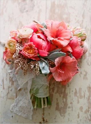 wedding-flowers-coral