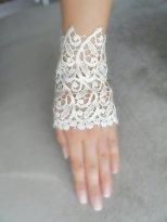 blonde-hansker-brud-brudetilbehør