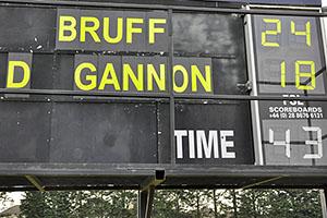 Final Score Bateman Cup Final