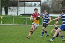 U18's in action