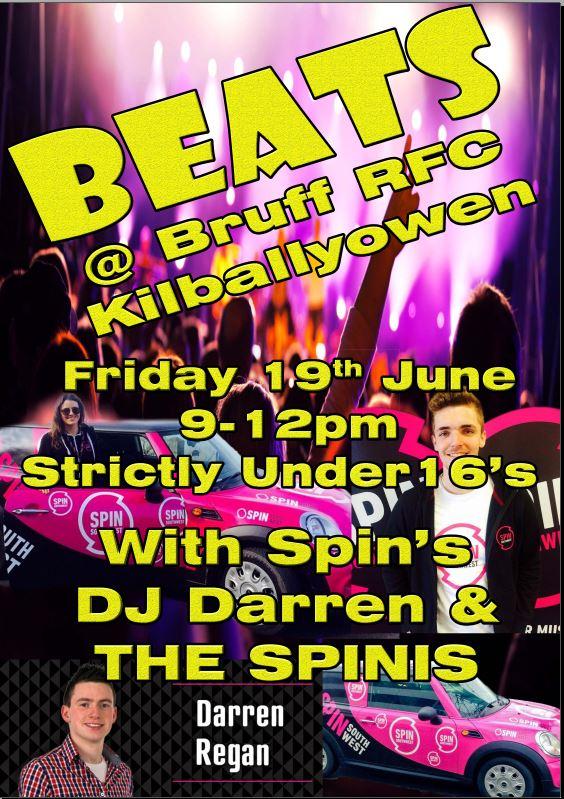 Beats at Bruff RFC