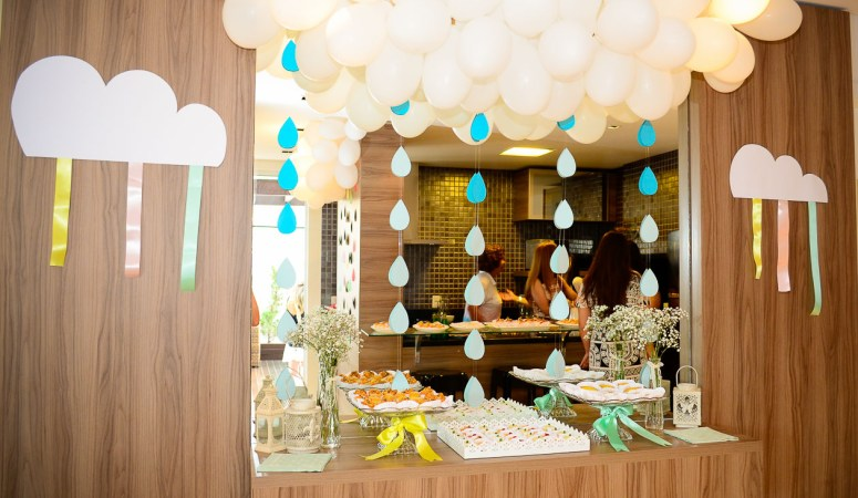 Baby Shower – Rain Drops Theme