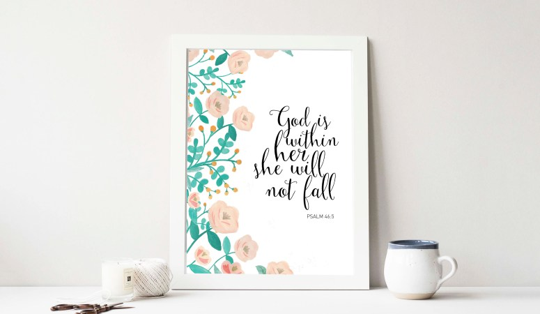 Psalm 46:5 Print