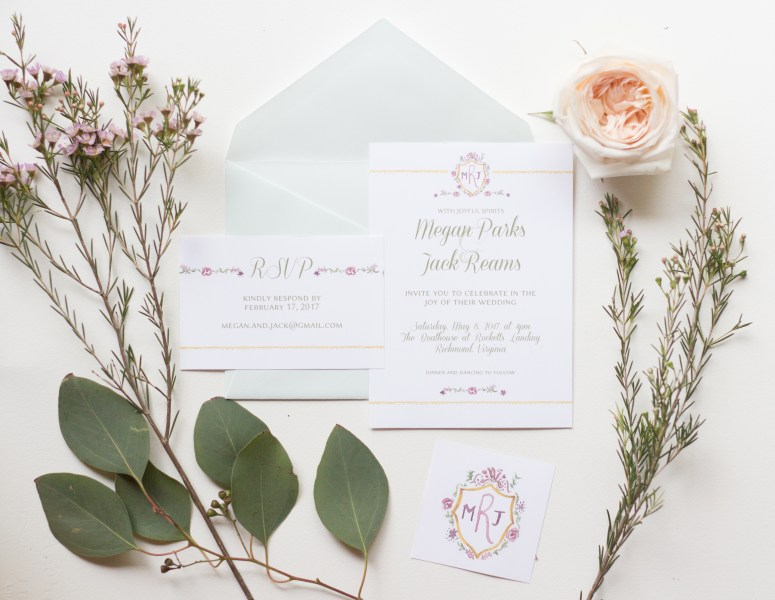 Wedding Invitations designed by Chamomile Design. Click the link to see full collection and get some sweet freebies!