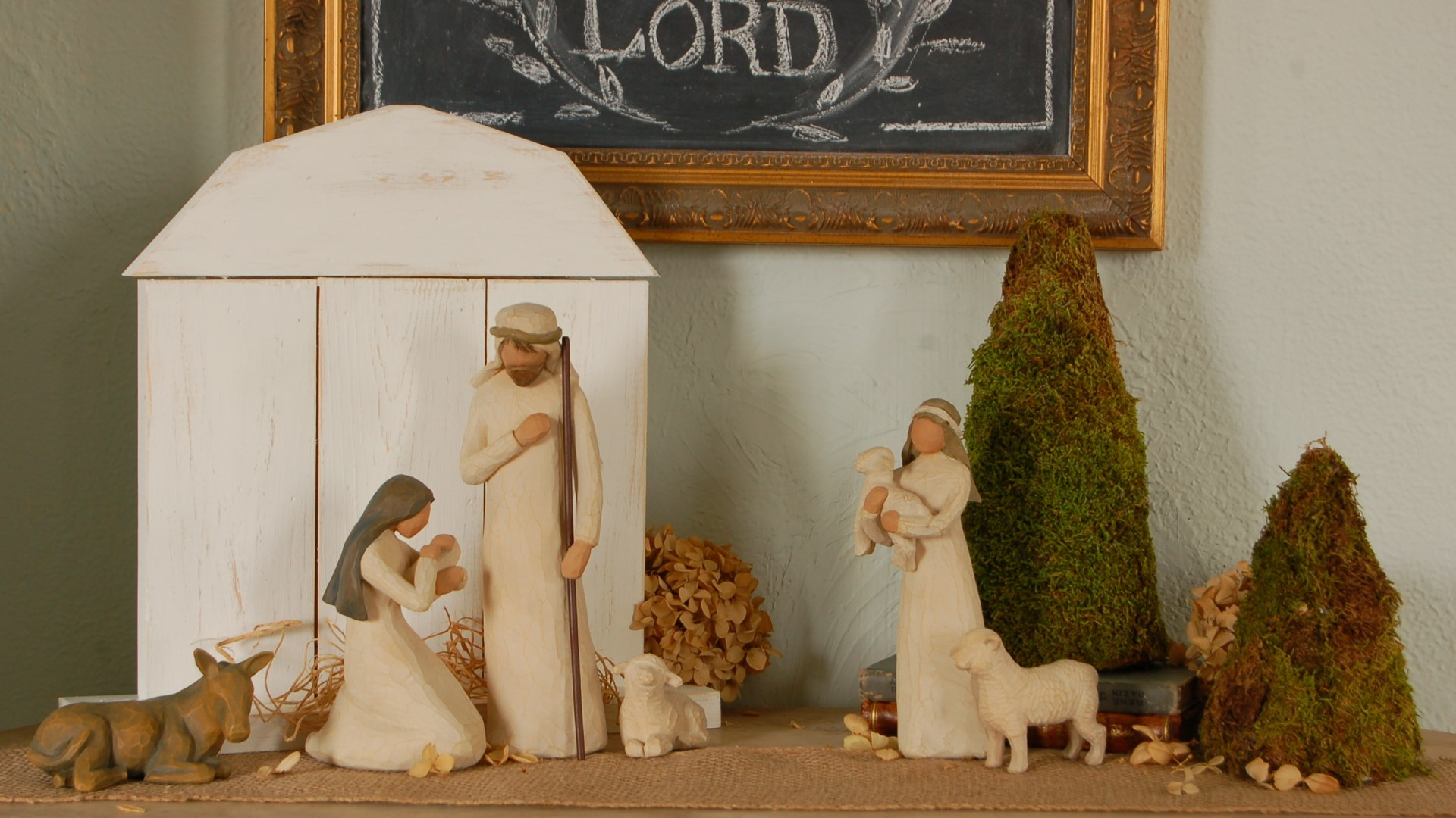 5 Step Nativity Stable Tutorial