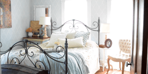 Farmhouse Master Bedroom Tour {Spring 2016}