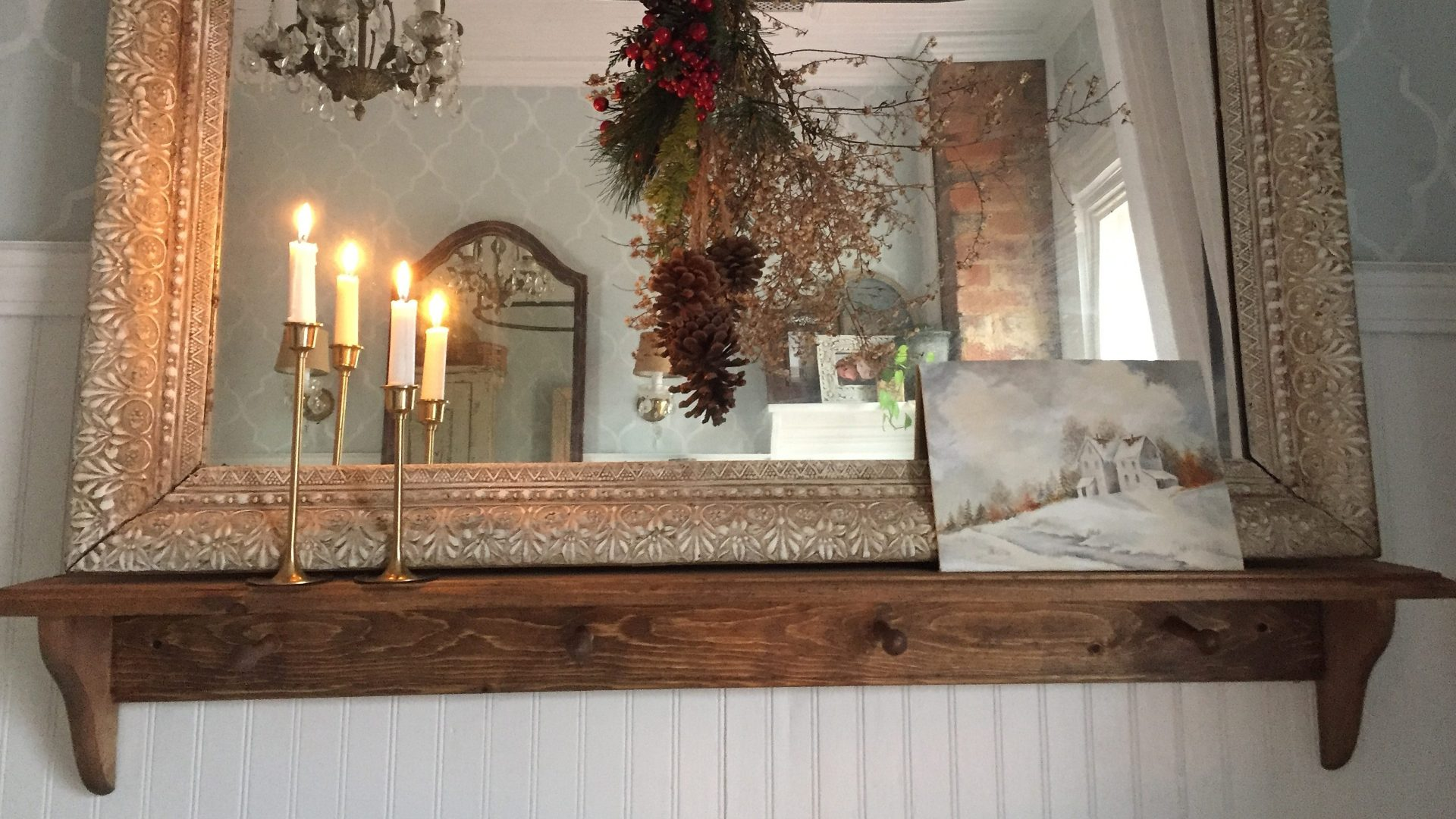 Unexpected Christmas Touches Around the Farmhouse